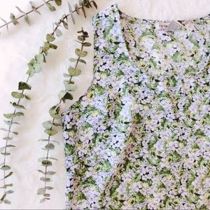 Tops - {vintage} floral shell